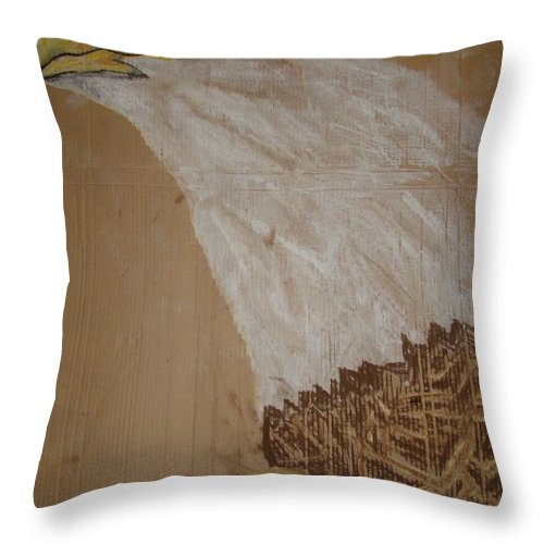 Eagle Throw Pillow featuring the photograph Eagle Eye by Jon L
