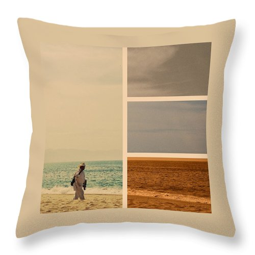Mexican Throw Pillow featuring the photograph Early Bird by Natasha Marco