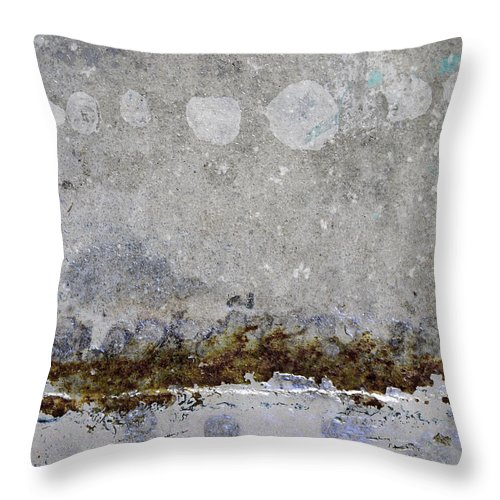 East Meets West Throw Pillow featuring the photograph East Meets West by Carol Leigh