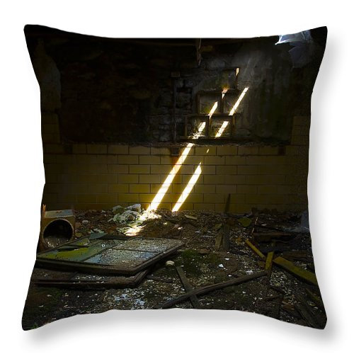 Prison Throw Pillow featuring the photograph Eastern State Penitentiary by Svetlana Sewell