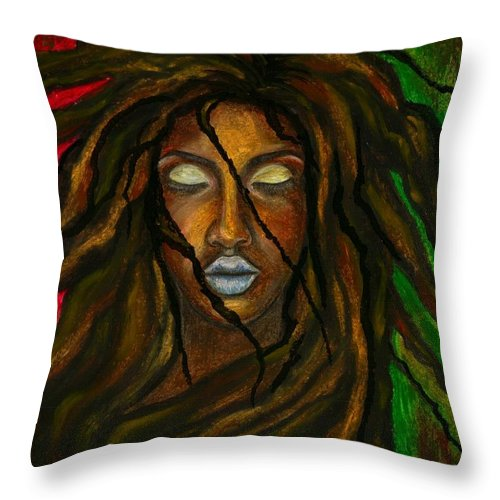 Beautiful Throw Pillow featuring the photograph Empress Divine by Artist RiA