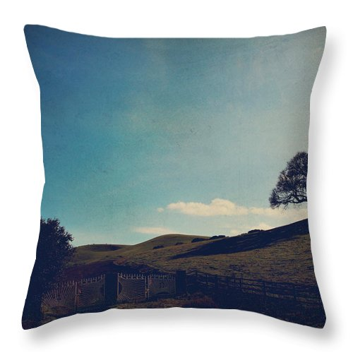 Sunol Throw Pillow featuring the photograph Entrances by Laurie Search