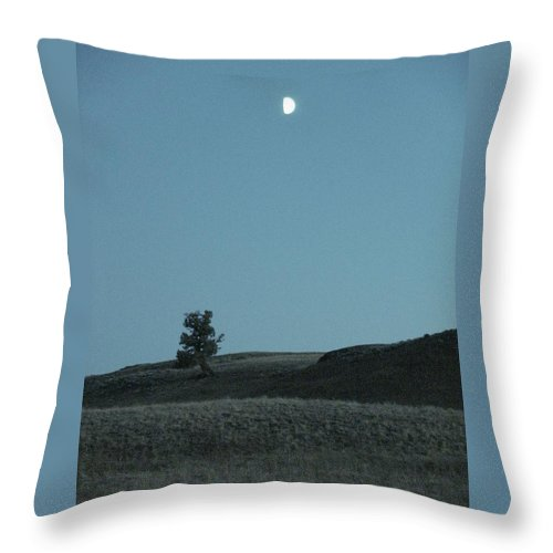 Blue Throw Pillow featuring the photograph Equal Parts by Michelle Regan