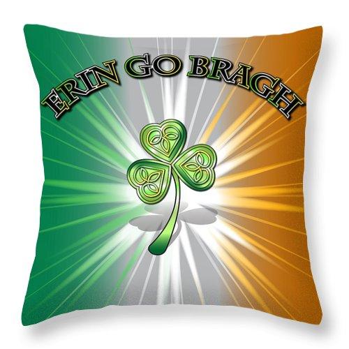 Erin go bragh flag throw pillow for sale by ireland calling erin go bragh flag throw pillow featuring the digital art erin go bragh flag by ireland m4hsunfo