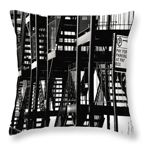 Chicago Throw Pillow featuring the photograph Breathe by David Gilbert