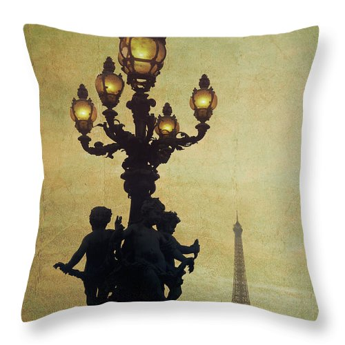 France Throw Pillow featuring the photograph Eternal Paris by Edmund Nagele