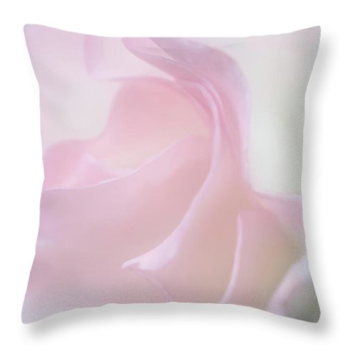 Rose Art Throw Pillow featuring the photograph Ethereal Feeling by The Art Of Marilyn Ridoutt-Greene