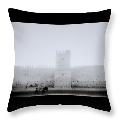 Serenity Throw Pillow featuring the photograph Lightness Of Being by Shaun Higson