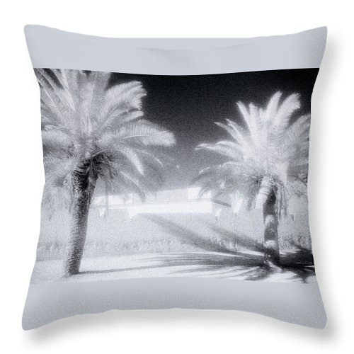 Paradise Throw Pillow featuring the photograph Ethereal Dream by Shaun Higson