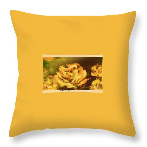 Canvas Prints Throw Pillow featuring the digital art Everlasting Memories by Cindy McClung