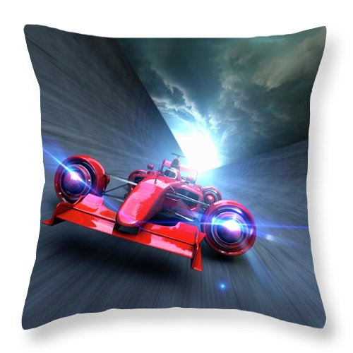 People Throw Pillow featuring the photograph Extreme High Performance by Colin Anderson