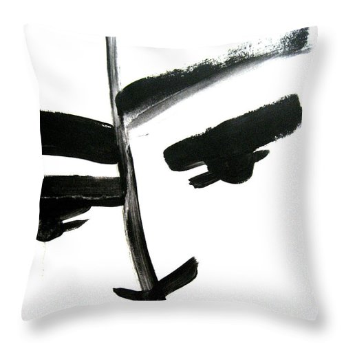 Art Throw Pillow featuring the painting Faces Of Sky 7 by Anna Elkins