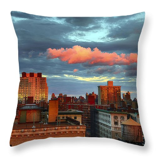 Tranquility Throw Pillow featuring the photograph Facing East by Joe Josephs Photography