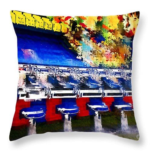 Fair Throw Pillow featuring the photograph Fair Games by Barbara D Richards