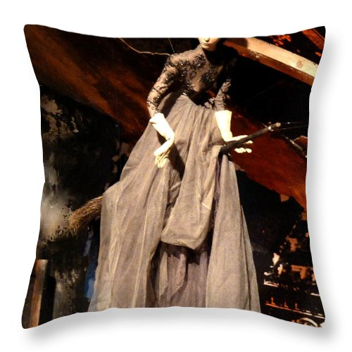 Newel Hunter Throw Pillow featuring the photograph Faith In Things Not Seen by Newel Hunter