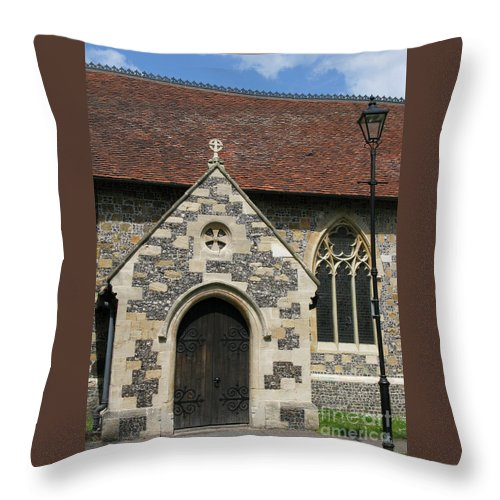 Church Throw Pillow featuring the photograph Faithful by Ann Horn