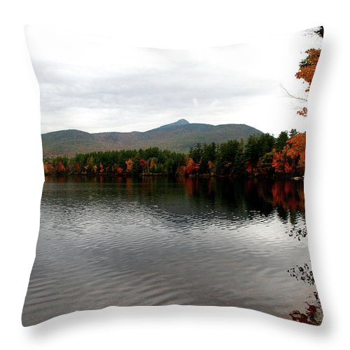 Fall Throw Pillow featuring the photograph Fall Reflection II by Christiane Schulze Art And Photography