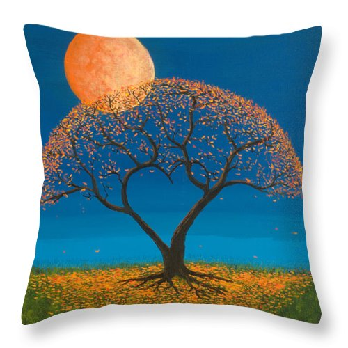 Love Throw Pillow featuring the painting Falling For You by Jerry McElroy