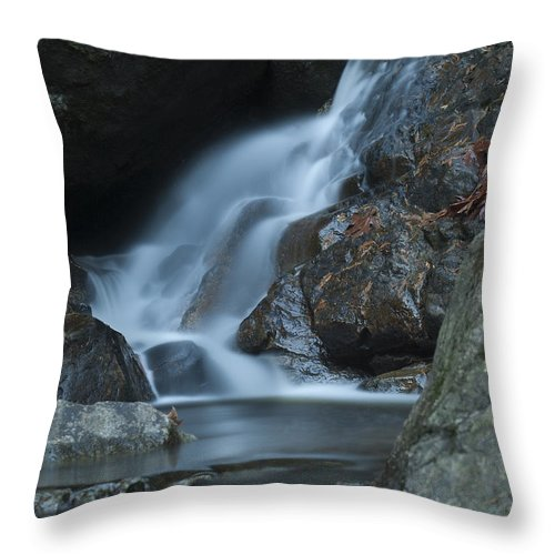 Waterfalls Throw Pillow featuring the photograph Falling Waters by Rod Wiens