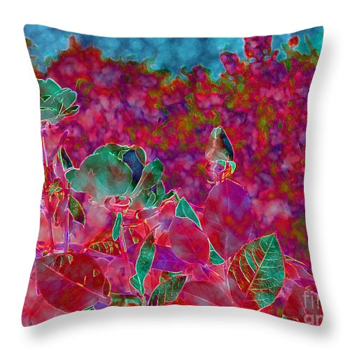 Diane Dimarco Art Throw Pillow featuring the photograph Family 2 by Diane DiMarco