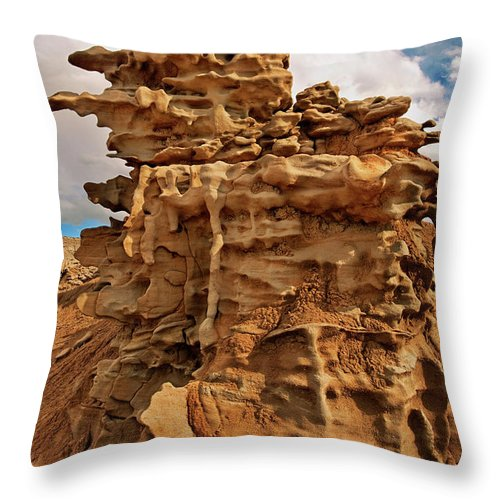 North America Throw Pillow featuring the photograph Fantastic Hoodoo Fantasy Canyon Utah United States by Dave Welling