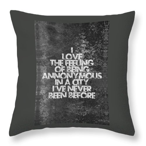 Feeling Quotes Poster Throw Pillow For Sale By Lab No 4 The Quotography Department