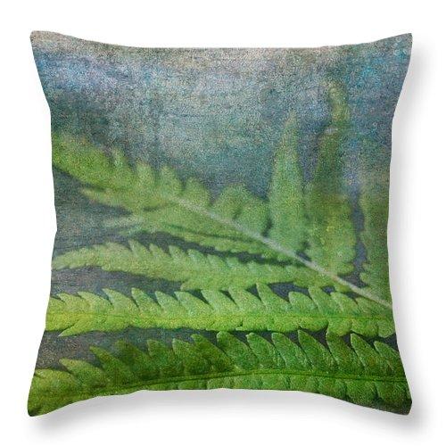 Fern Throw Pillow featuring the photograph Fern by Garvin Hunter