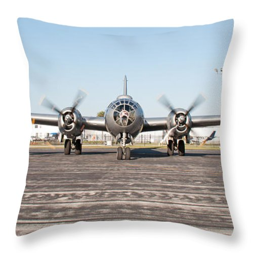 Fifi Throw Pillow featuring the photograph Fifi - 013 by John Black