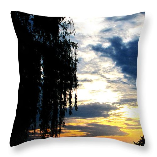 Jesus Christ Throw Pillow featuring the photograph First John Three Eleven by Ron Tackett