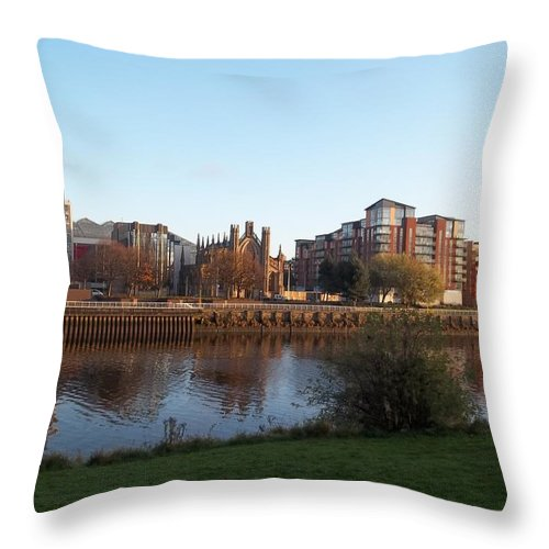 Firth Of Clyde Throw Pillow featuring the photograph Firth Of Clyde by James Potts