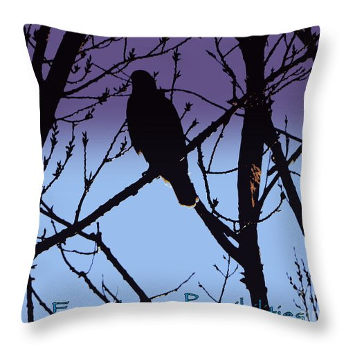 Birch Tree Throw Pillow featuring the photograph Focusing On Possibilities by Bobbee Rickard