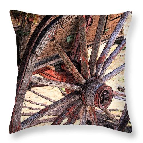 Autumn Throw Pillow featuring the photograph Forever Autumn by Laurie Purcell