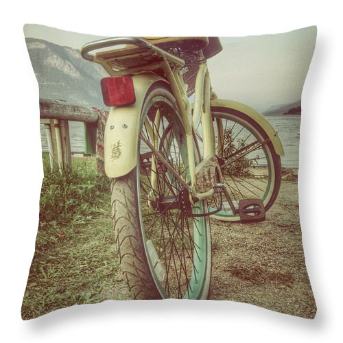 Landscapes Throw Pillow featuring the photograph Forever Twenty One by The Artist Project