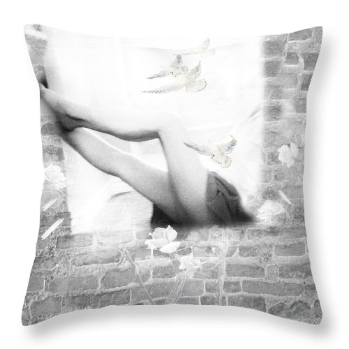 Free Throw Pillow featuring the photograph Free Spirit by Diana Haronis