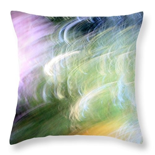 Colors Throw Pillow featuring the photograph Galaxy Colors by Munir Alawi