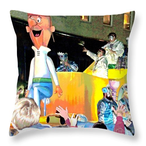 Digital Art Throw Pillow featuring the photograph George Jetson Poster by Marian Bell