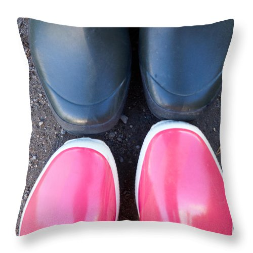 Finland Throw Pillow featuring the photograph Getting Closer by Kukka Lehto