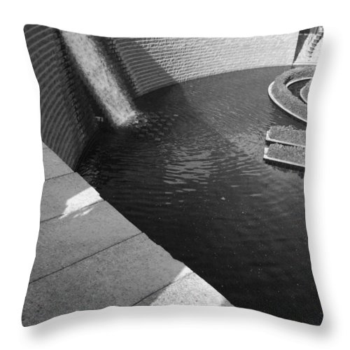 Getty Throw Pillow featuring the photograph Getty Museum by Aaron Swenson