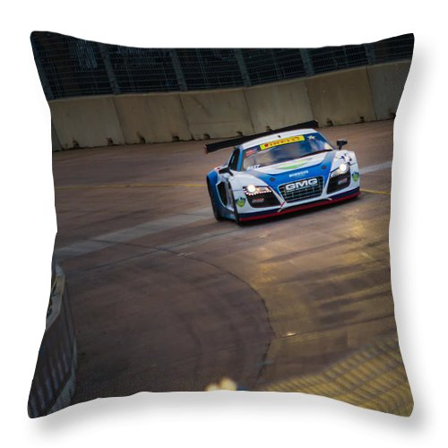 2013 Throw Pillow featuring the photograph Gmg R8 Lms by Tim Stanley