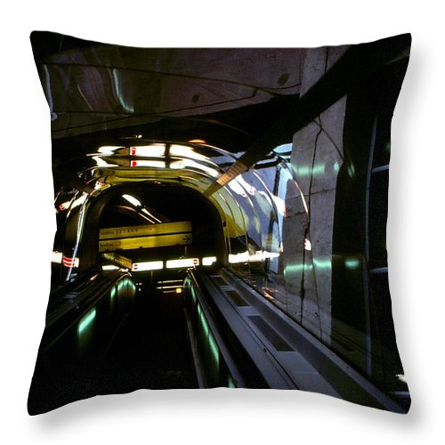 Roy Williams Throw Pillow featuring the photograph Going Up by Roy Williams