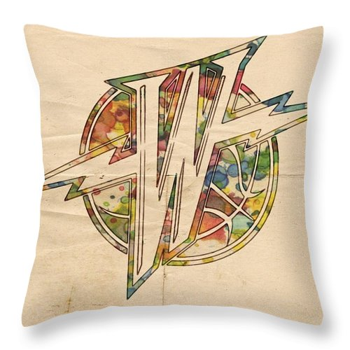 de05f2c7e1224 Golden State Warriors Retro Logo Throw Pillow for Sale by Florian Rodarte