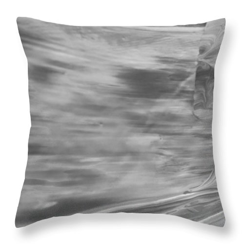 Original Throw Pillow featuring the painting Google Force by Artist Ai