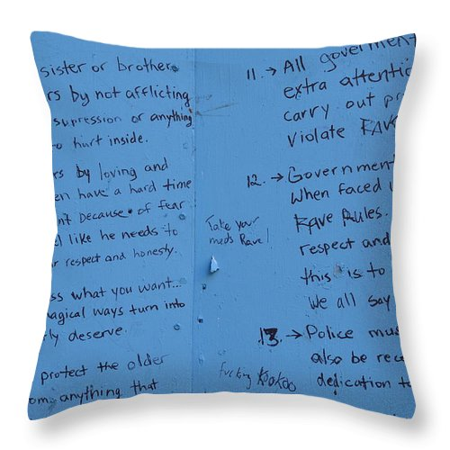 Vancouver Throw Pillow featuring the photograph Government Rules by The Artist Project