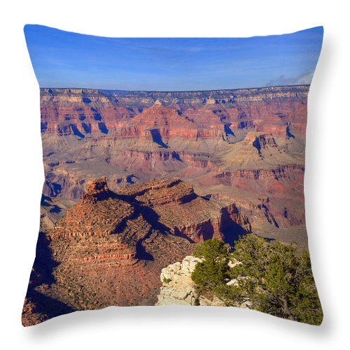 Grand Throw Pillow featuring the photograph Grand Canyon 43 by Douglas Barnett