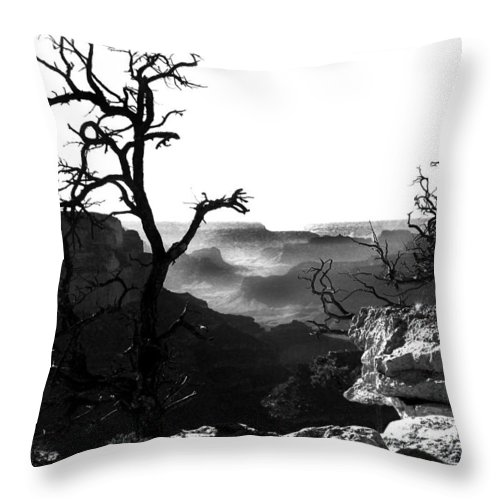 Grand Canyon Throw Pillow featuring the photograph Grand Nature by Camille Lopez