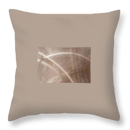 Landscape Throw Pillow featuring the photograph Grass - Abstract 2 by Natalie Rotman Cote