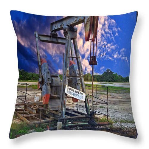 Grasshopper Throw Pillow featuring the photograph Grasshopper by Ella Kaye Dickey