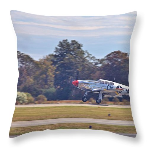 9198 Throw Pillow featuring the photograph Greaser by Gordon Elwell
