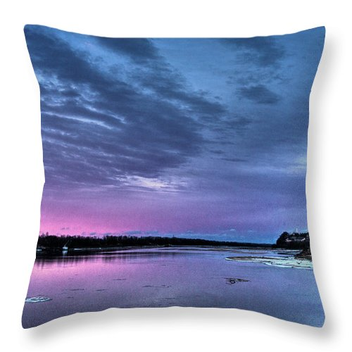 Groundhog Day Throw Pillow featuring the digital art Groundhog Day by William Fields
