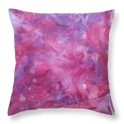 Guitar Throw Pillow featuring the painting Guitar 2 by Matthew Howard